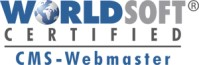 Worldsoft Certified CMS-Webmaster Logo